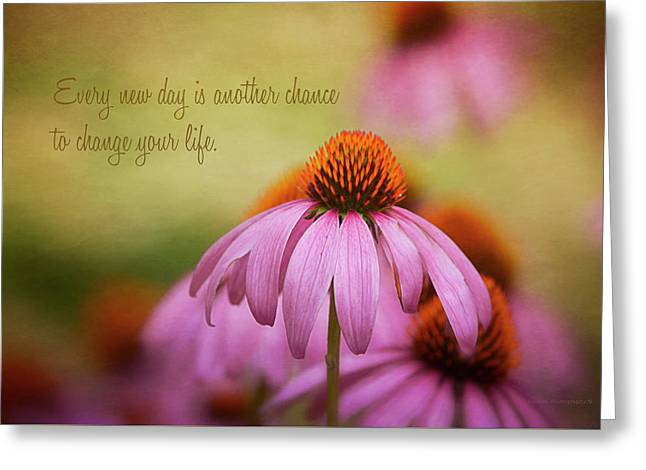 Words For The Soul Greeting Card by Maria Angelica Maira