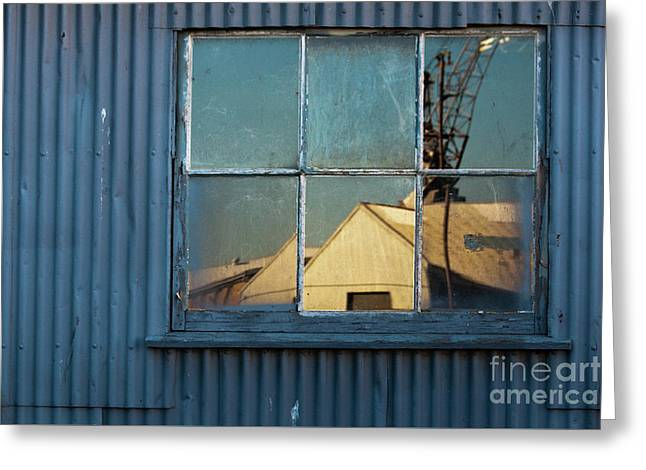 Greeting Card featuring the photograph Work View 1 by Werner Padarin