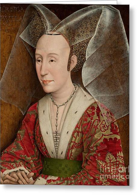 workshop Isabella of Portugal Greeting Card