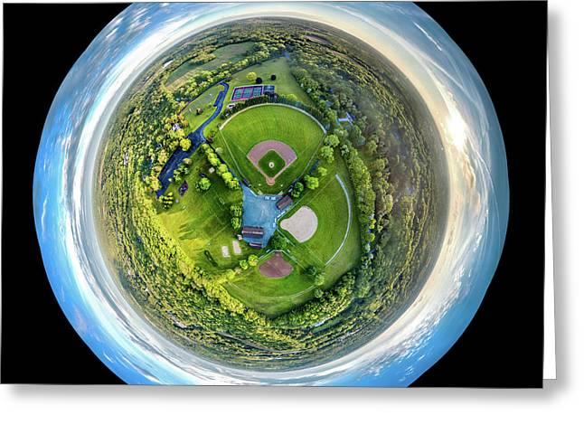 World Of Baseball Greeting Card