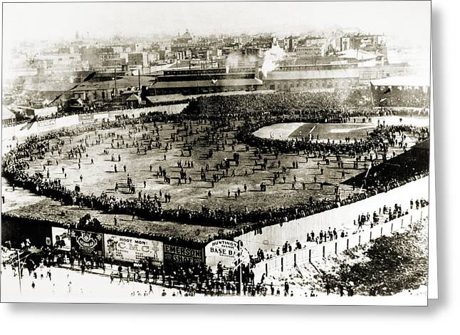 World Series, 1903 Greeting Card