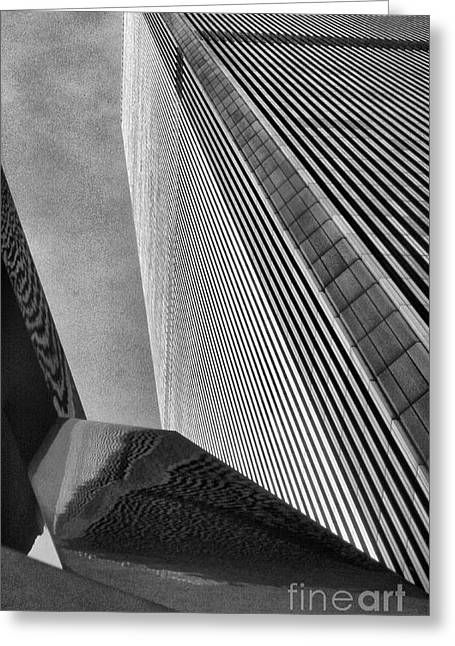 World Trade Center 1 Greeting Card by Jeff Breiman