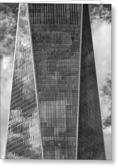World Trade Center 2015 Greeting Card by Robert Ullmann