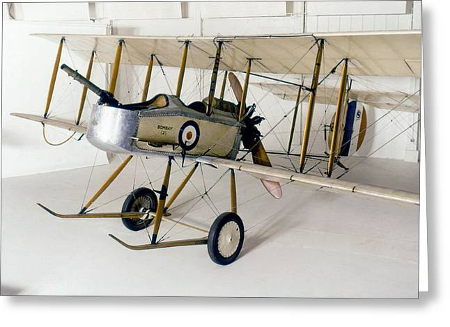 World War I: British Plane Greeting Card by Granger