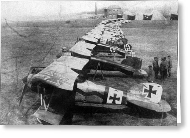 World War I: German Planes Greeting Card by Granger