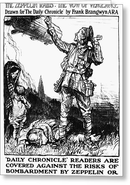 World War I: Poster Greeting Card by Granger