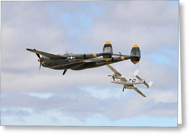 World War II Aircraft Greeting Card by Shoal Hollingsworth