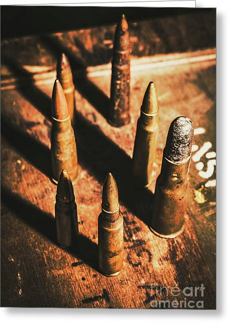 World War II Ammunition Greeting Card