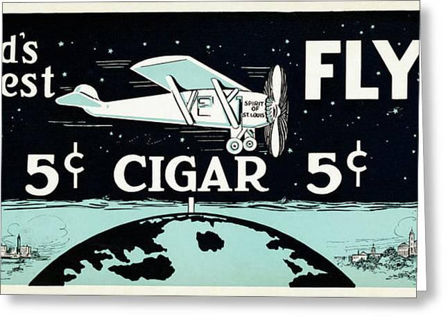 Worlds Greatest Cigar Greeting Card by Jon Neidert