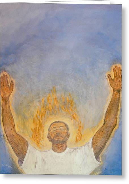 Reverence Greeting Cards - Worship  Greeting Card by Nigel Wynter