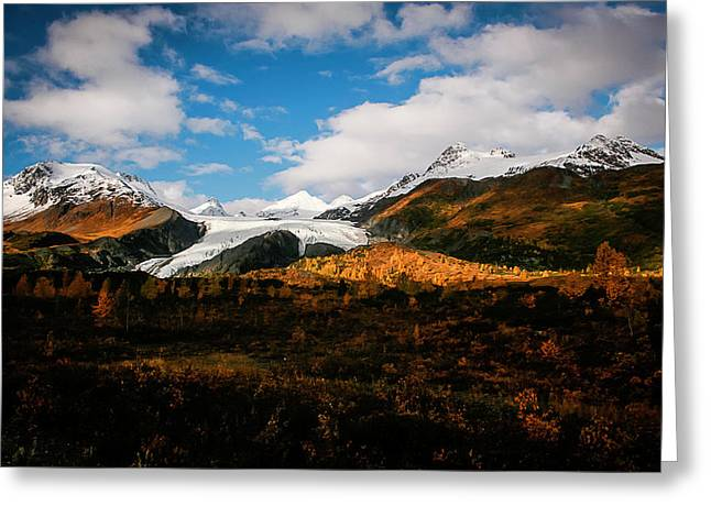 Worthington Glacier  Greeting Card