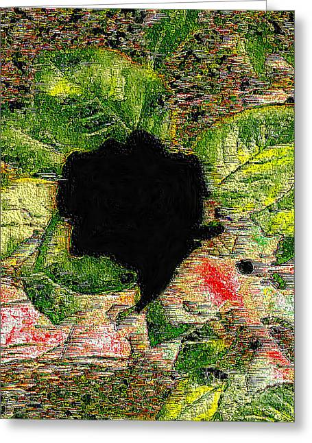 Wounded Nature Greeting Card