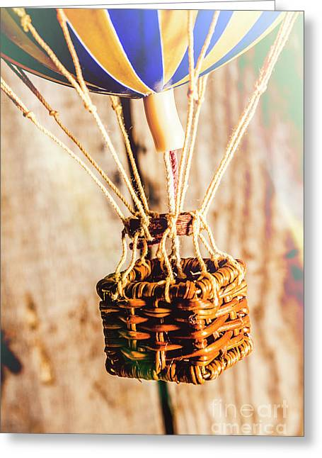 Woven Air Craft Greeting Card