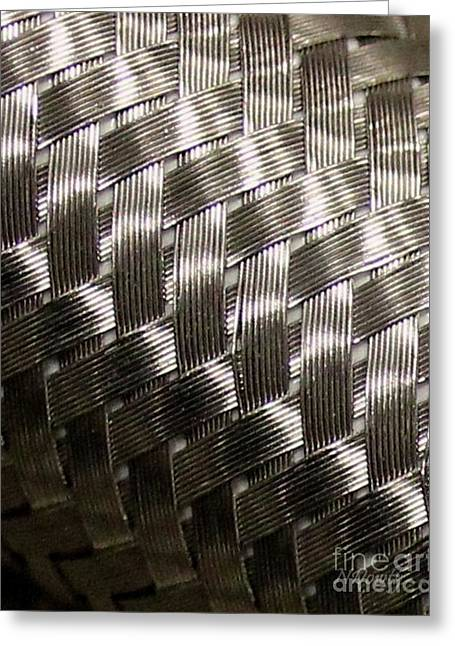 Woven Pipe Greeting Card