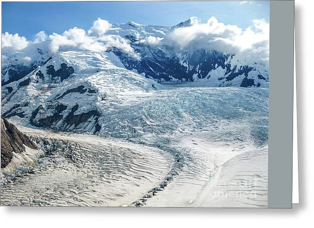 Wrangell Alaska Glacier Greeting Card