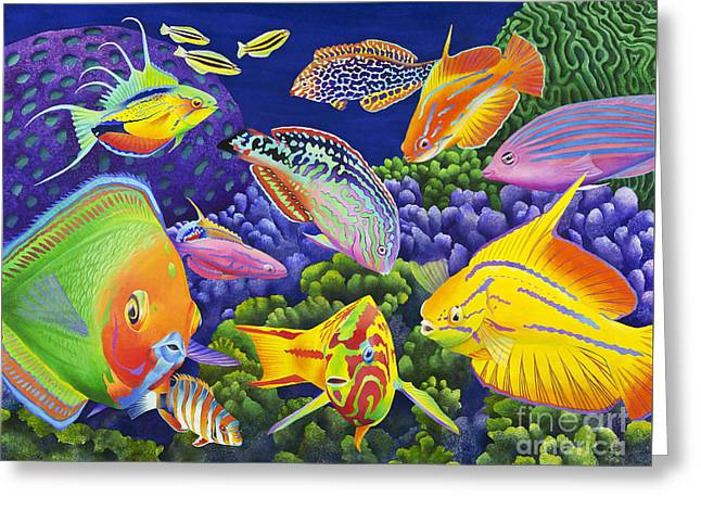Wrasse Appeal Greeting Card