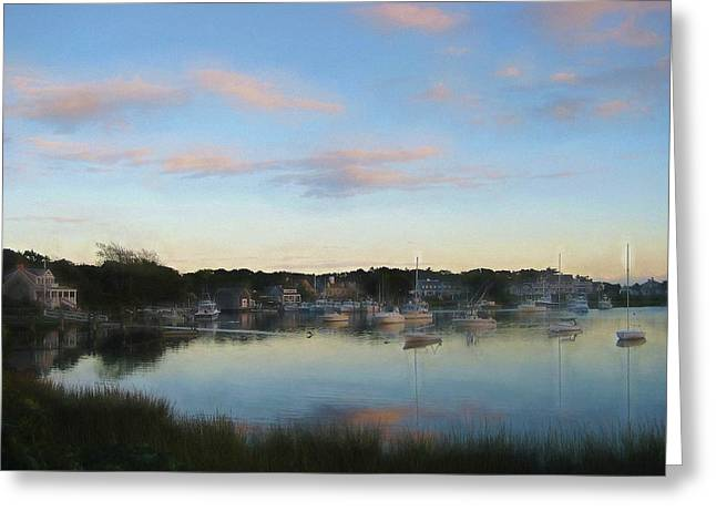 Wrentham Sunset Greeting Card by JAMART Photography