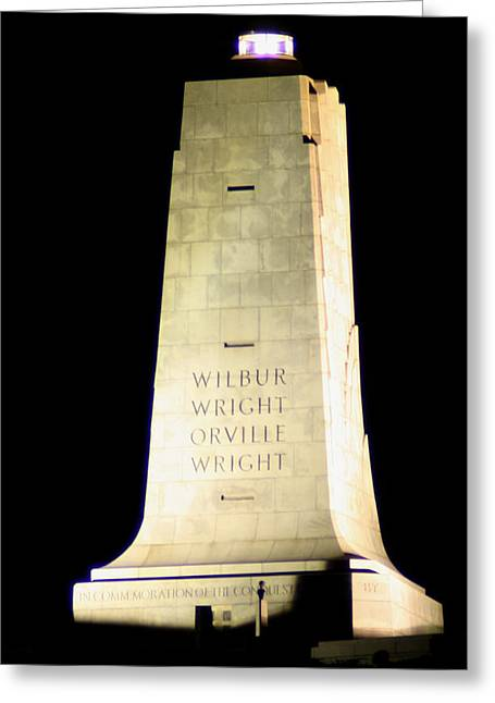 Wright Brothers' Memorial Greeting Card
