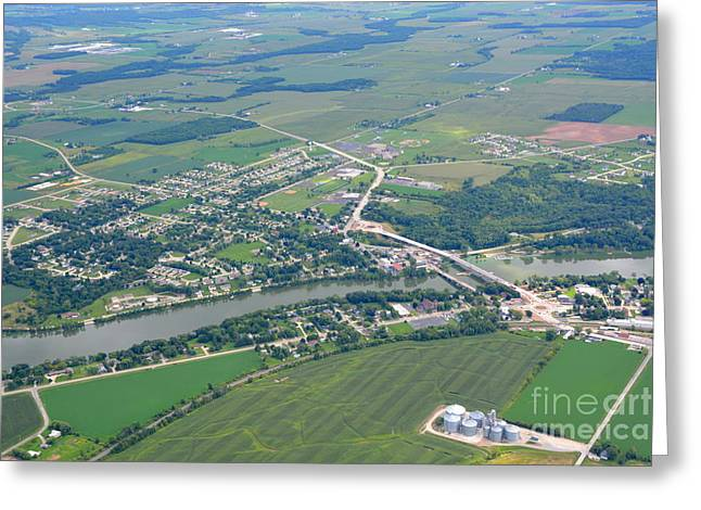 Wrightstown Wisconsin Greeting Card by Bill Lang