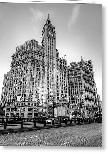Wrigley Building - Chicago Greeting Card