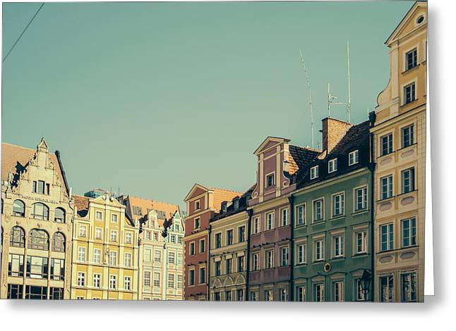 Wroclaw Architecture Greeting Card by Pati Photography