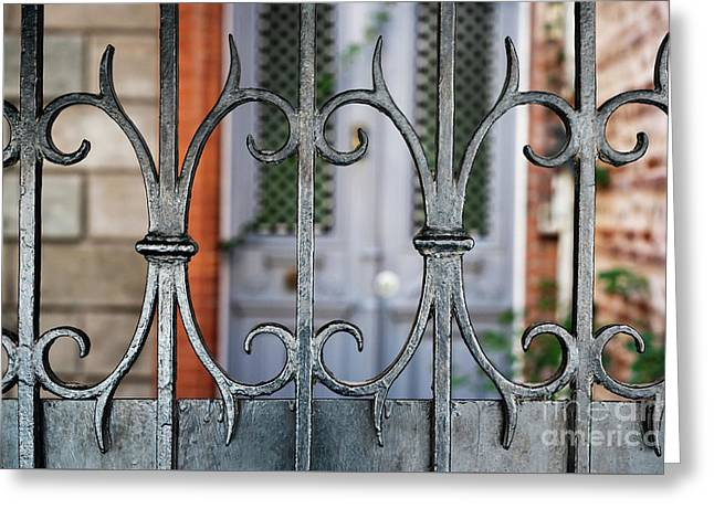Wrought Iron Greeting Card by Elena Elisseeva