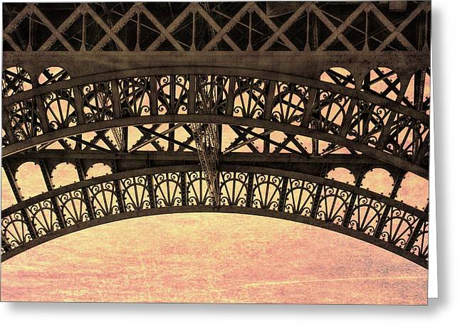 Wrought Iron Art Greeting Card by JAMART Photography