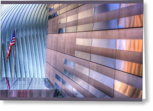 Wtc Museum Greeting Card by Paul Wear