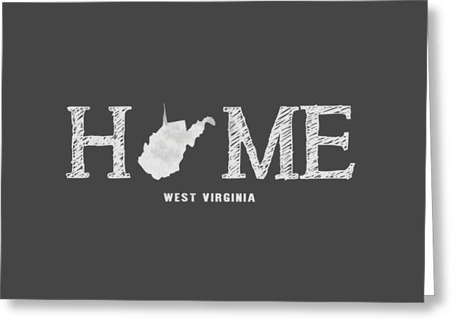 Wv Home Greeting Card by Nancy Ingersoll