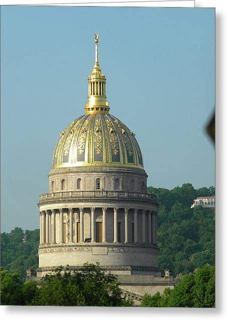 West Virginia State Capital Building  Greeting Card