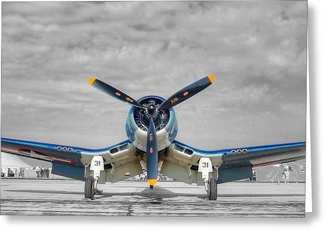 Ww II Fighter Plane 2 Greeting Card
