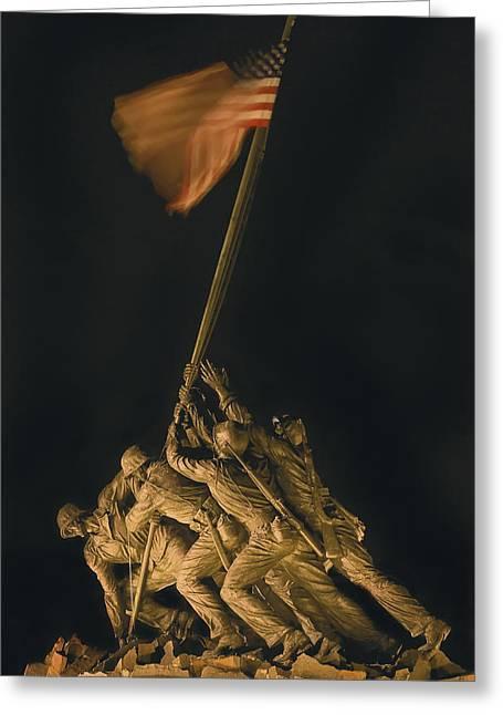Iwo Jima Remembrance Greeting Card
