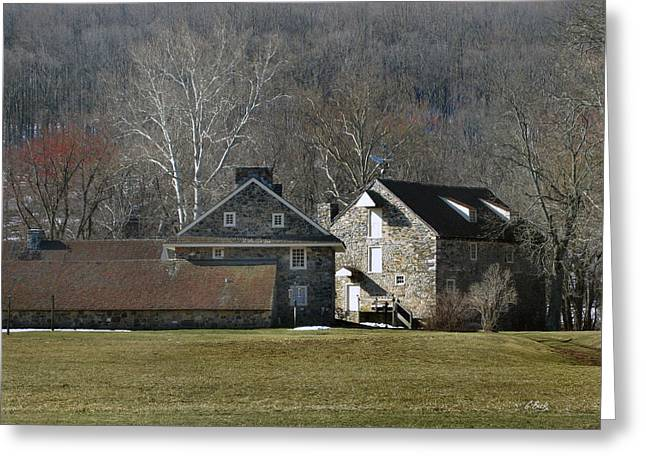 Wyeth Home In Spring Greeting Card by Gordon Beck