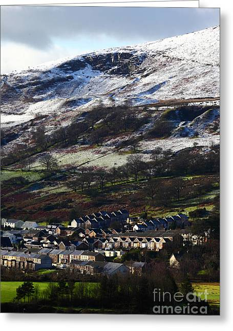Wyndham Ogmore Valley South Wales Greeting Card by James Brunker