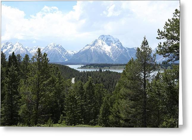 Wyoming 6490 Greeting Card