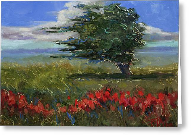 Wyoming Gentle Breeze Greeting Card by Billie Colson