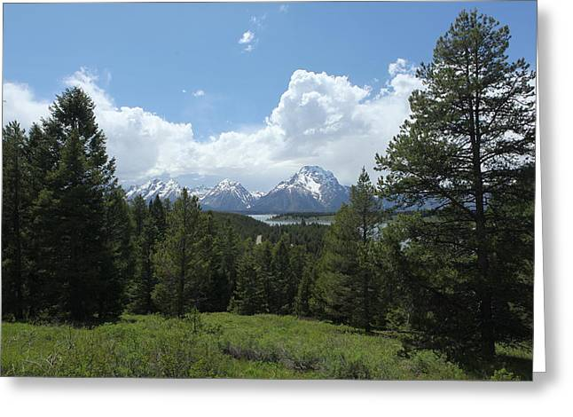 Wyoming 6500 Greeting Card by Michael Fryd