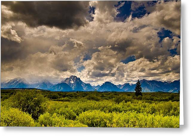 Wyoming Sky Greeting Card by Patrick  Flynn