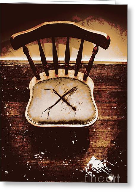 X Marks The Spot Greeting Card by Jorgo Photography - Wall Art Gallery