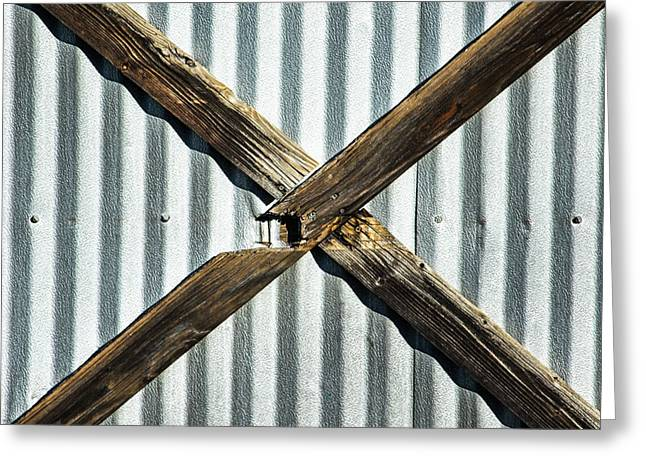 Greeting Card featuring the photograph X Marks The Spot by Karol Livote