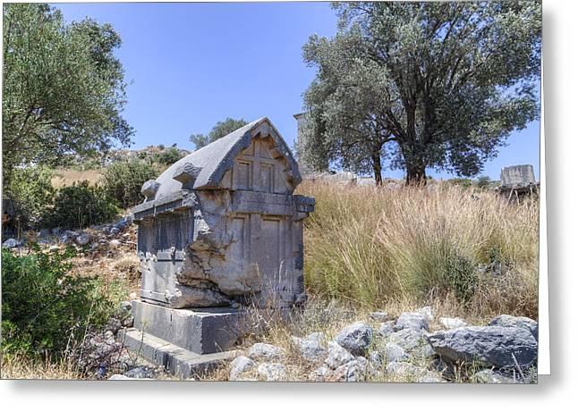 Xanthos - Turkey Greeting Card by Joana Kruse