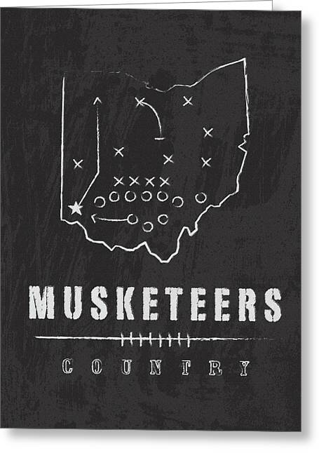 Xavier Musketeers Country Greeting Card