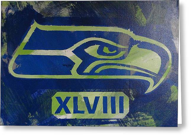 Xlviii Greeting Card