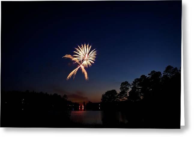Xo Firework Greeting Card