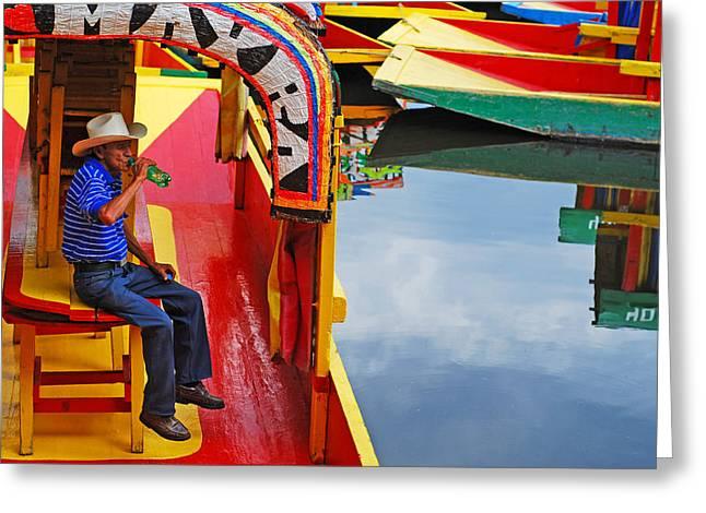 Xochimilco Greeting Card