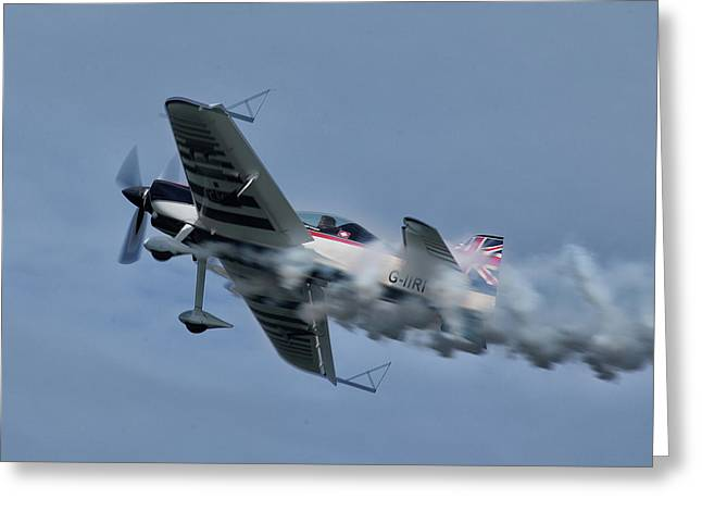 Xtreme Air Greeting Card by Nichola Denny