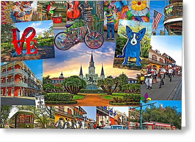 Ya Gotta Love New Orleans 2 Greeting Card