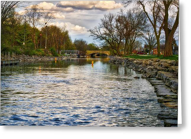 Yahara River, Madison, Wi Greeting Card by Steven Ralser