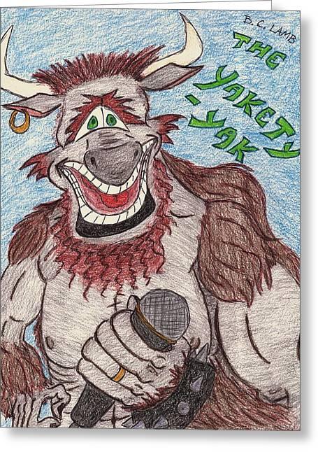 Yakety Yak Greeting Card