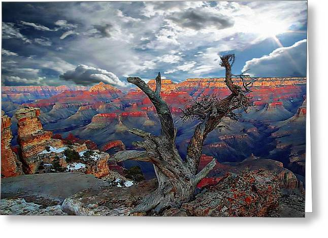 Yaki Point Grand Canyon Greeting Card